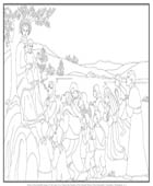 Our Lady LaVang Coloring Page