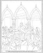 Proclamation of the Kingdom Coloring Page